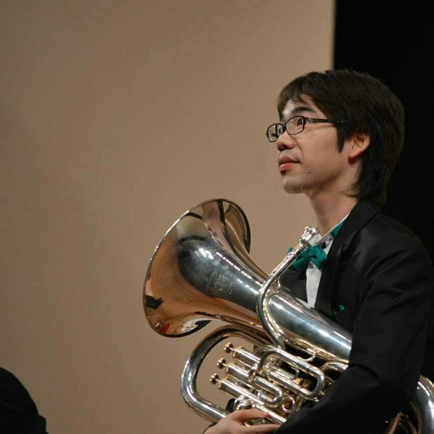 【吹奏楽部中学生向け】ユーフォニアム・廣田一馬先生によるワークショップ
